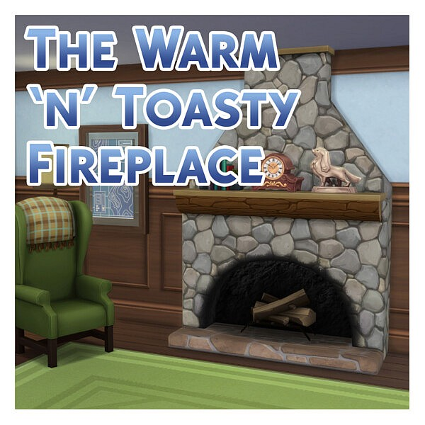 The Warm n Toasty Fireplace