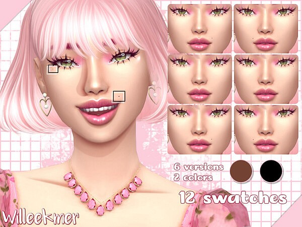Timeless Beauty Moles sims 4 cc