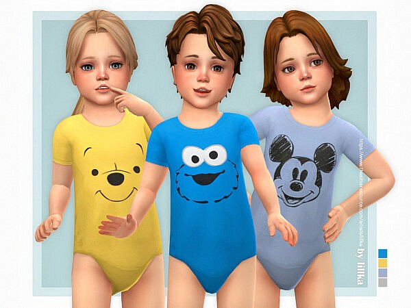 Toddler Onesie 13 by lillka from TSR