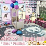 Toddlers Room Collection sims 4 cc