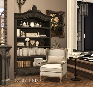 Traditional Townhouse CC Set sims 4 cc