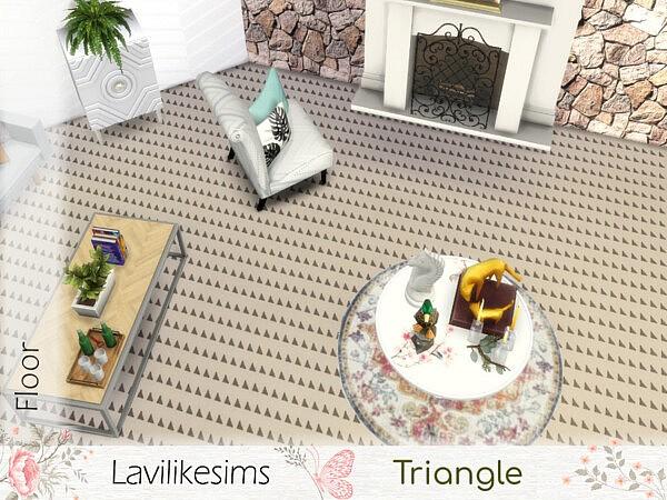 Triangle floors