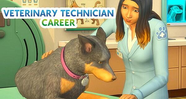 Veterinary Technician Career sims 4 cc