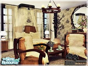 WANDA Bedroom sims 4 cc