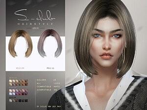 WM Hair 202120 sims 4 cc
