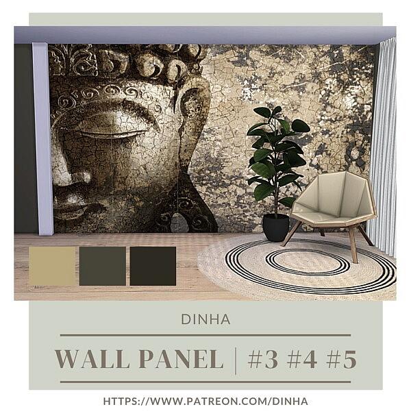 Wall Panel sims 4 cc