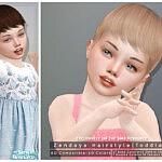 Zendaya Hair sims 4 cc