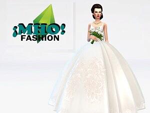 arabic wedding dress sims 4 cc