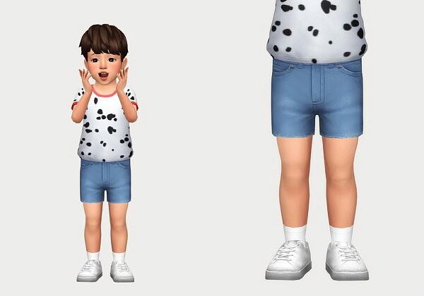 denim shorts sims 4 cc