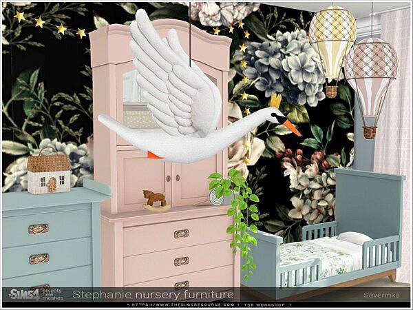 Stephanie nursery decor by Severinka from TSR