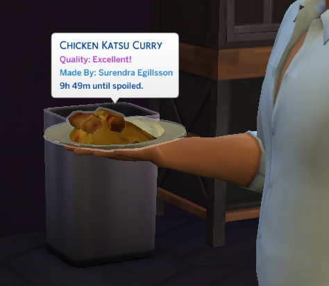 Chicken Katsu Curry   New Custom Recipe by RobinKLocksley from Mod The Sims
