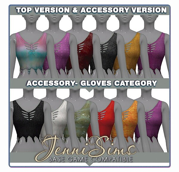 Top Version and Accessory from Jenni Sims