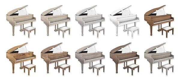 Grand Pianos from Simplistic