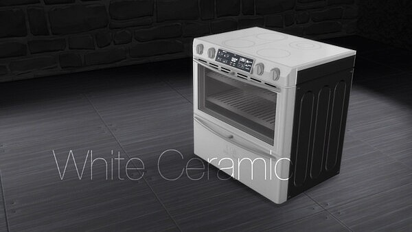 H&B PowerWave Stove by littledica from Mod The Sims
