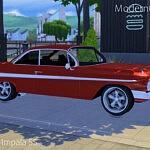 1961 Chevrolet Impala SS sims 4 cc
