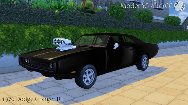 1970 Dodge Charger RT from Modern Crafter