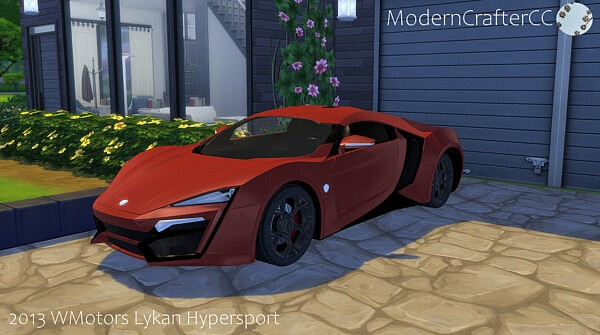 2013 WMotors Lykan Hypersport sims 4 cc
