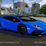 2015 Lamborghini Aventador SV sims 4 cc