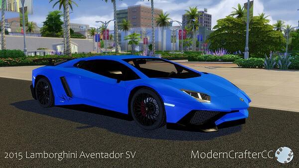 2015 Lamborghini Aventador SV from Modern Crafter