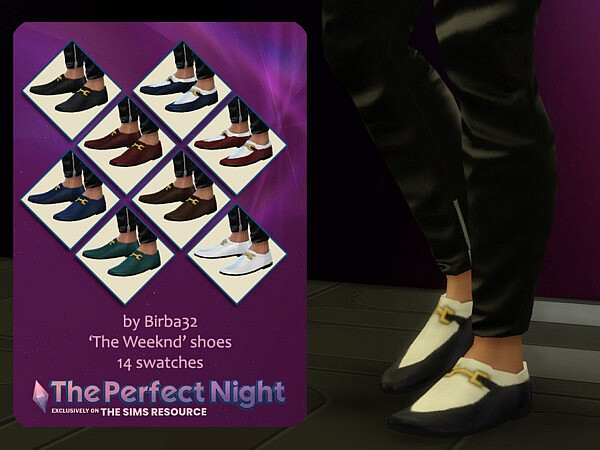 The Perfect Night   The Weeknd shoes from TSR