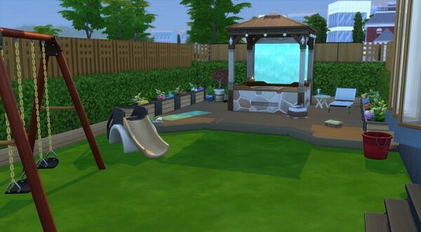 Zelia villa from Sims Artists