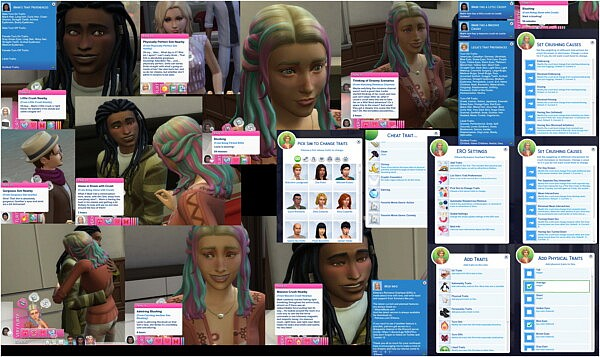 Romance Overhaul 3.6 by  Etheria from Mod The Sims