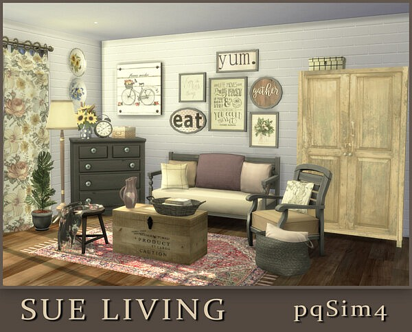 Sue Living from PQSims4