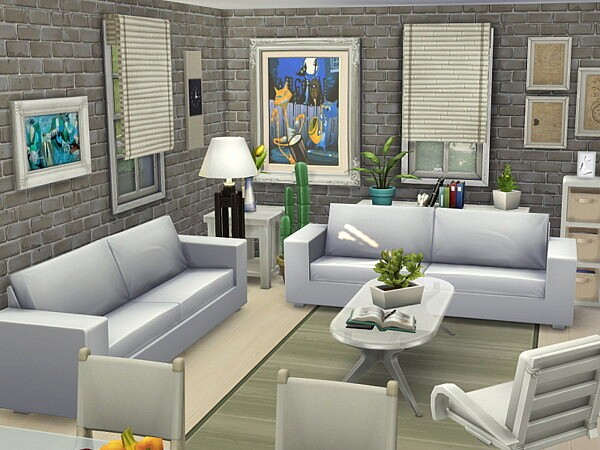 Base Game Cottage   no CC by Flubs79 from TSR