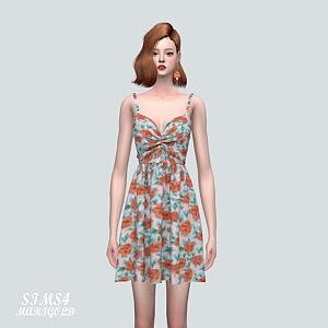 5 Shirring Mini OS Dress