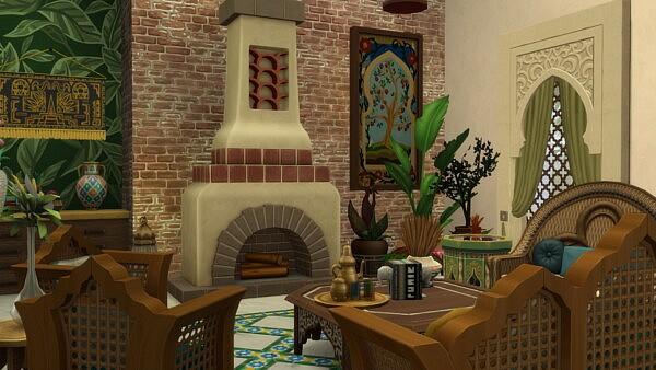 Oasis Riad Villa from Simsational designs