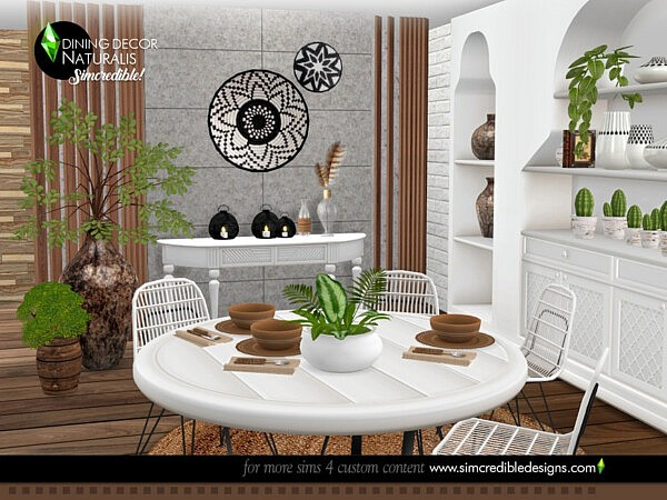 Naturalis Dining decor by SIMcredible! from TSR