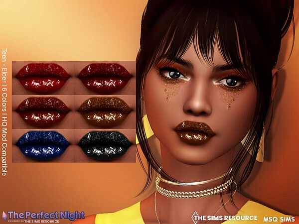 The Perfect Night   Simchella Lipstick by MSQSIMS from TSR