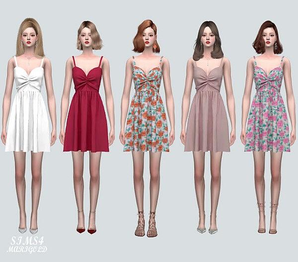 5 Shirring Mini OS Dress from SIMS4 Marigold