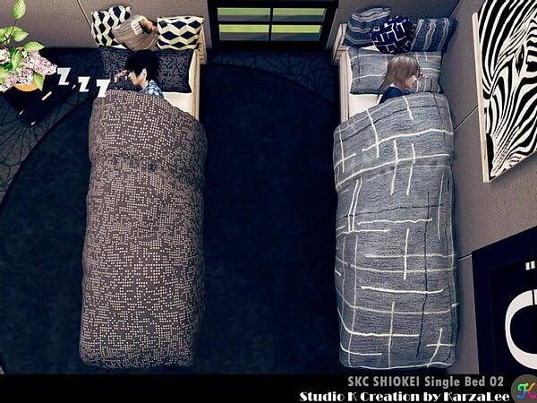 Shiokei single bed 02 from Studio K Creation
