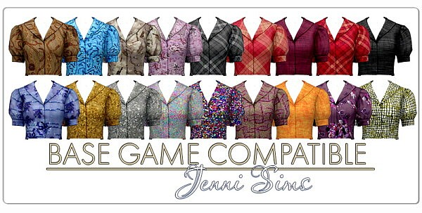 Top Blouse from Jenni Sims
