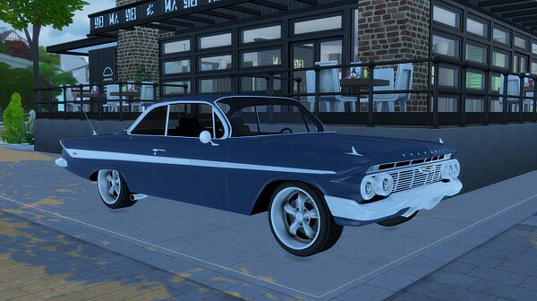 1961 Chevrolet Impala SS from Modern Crafter
