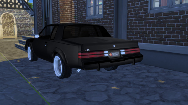 1987 Buick GNX from Modern Crafter