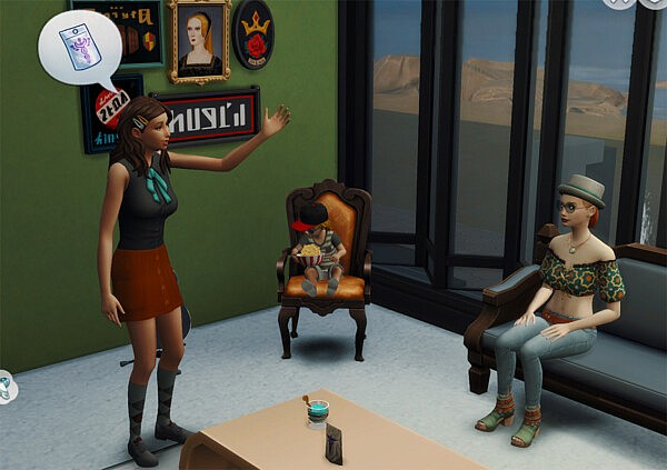 Ask to Eat and more Update 2 by amellce from Mod The Sims
