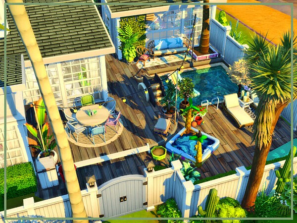 Springscape House by simmer adelaina from TSR