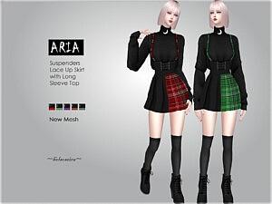 ARIA Suspender Outfit