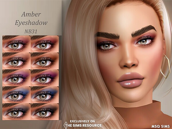 Amber Eyeshadow from MSQ Sims