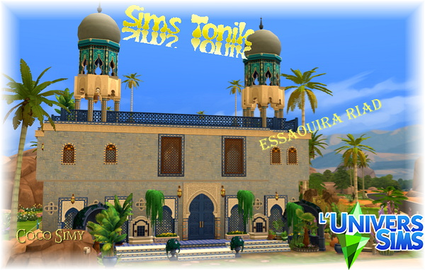 Asouirra Riad sims 4 cc