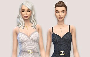 Asymmetrical Dress sims 4 cc