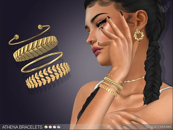 Athena Bracelet Set right wrist