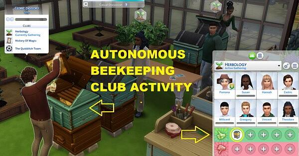 Autonomous Beekeeping Club Interaction