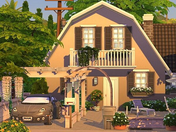 Base Game Cottage no CC