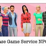 Base Game Service Sims