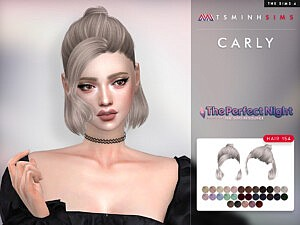 Carly Hairstyle 154 TsminhSims