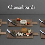 Cheese Boards sims 4 cc