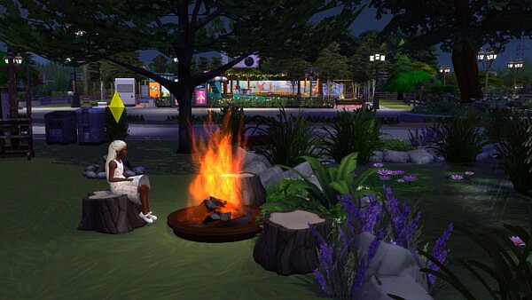Children can light campfire and bonfire and also fire dance